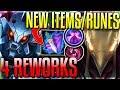 4 MINI-REWORKS & NEW ITEMSRUNES! ADC ReworkAzir! (ARAM) - New 8.11 Changes - League of Legends