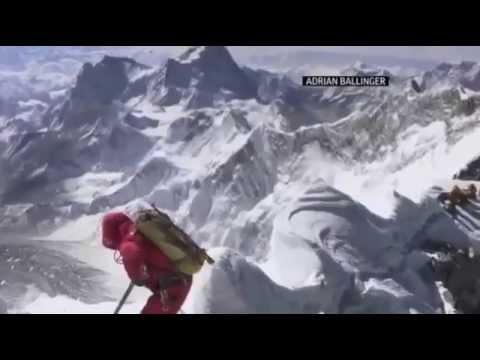 Mount Everest Avalanche Leaves at Least 12 Nepalese Climbers Dead   VIDEO