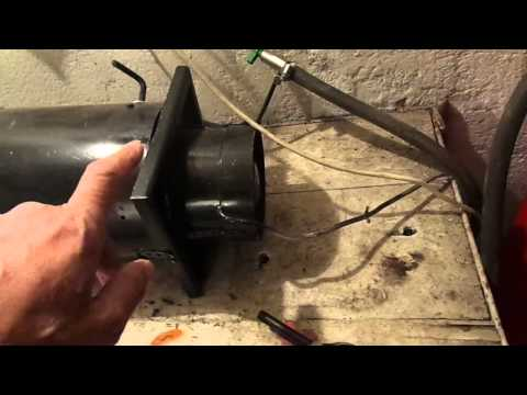 Самодельная газовая пушка своими руками