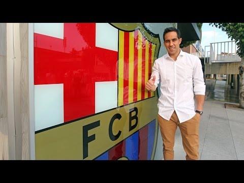 La llegada de Claudio Bravo al FC Barcelona
