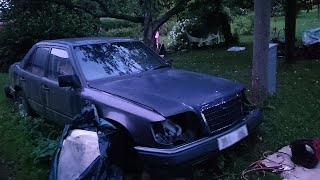 1988 Mercedes-Benz w124 200D Cold Start After 3 Years (1080p)