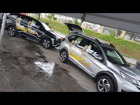 Comparison: 2018 Toyota Rush vs Honda BRV Walkaround Review