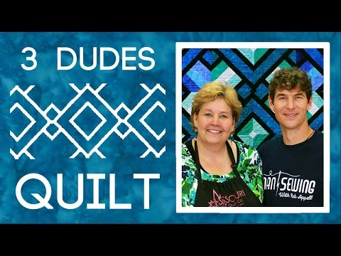 Amazing Jelly Roll Quilt Pattern By 3 Dudes