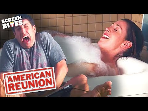 American Reunion | Jim Spends Time With His Sock | Jason Biggs