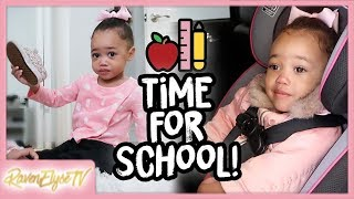 Pre-School Morning Routine + Mommy Duties!