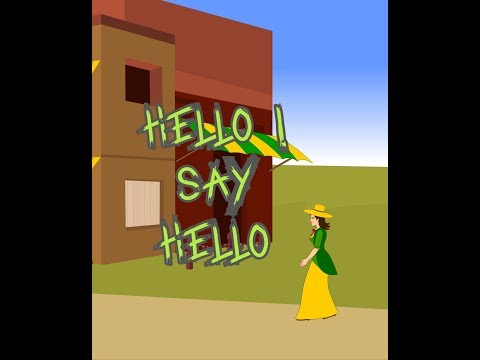 Hello - A Simple Greeting Song -Children's Popular Nursery Rhymes