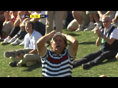 The Ryder Cup 2012 Sunday BBC Summary 1080i
