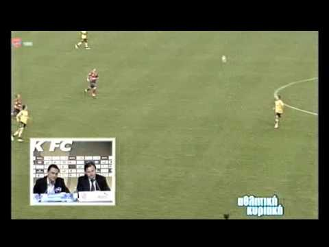 Aek - Panionios 2-3 interview