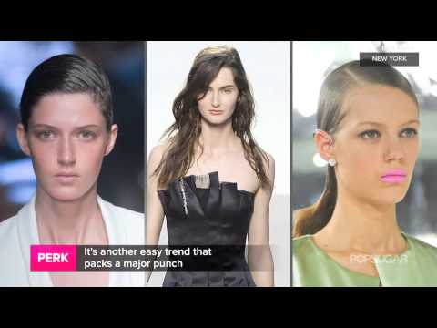 3 Easy Hair Style Trends   Fashion Week Spring 2014