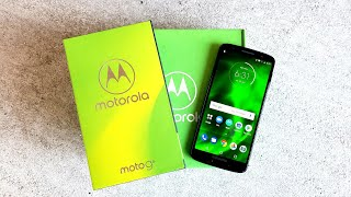 Moto G6 Unboxing And First Impressions