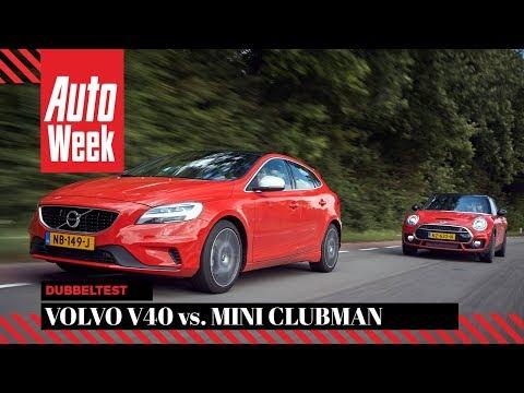 Mini Cooper S Clubman Vs Volvo V40 T4 Autoweek Dubbeltest