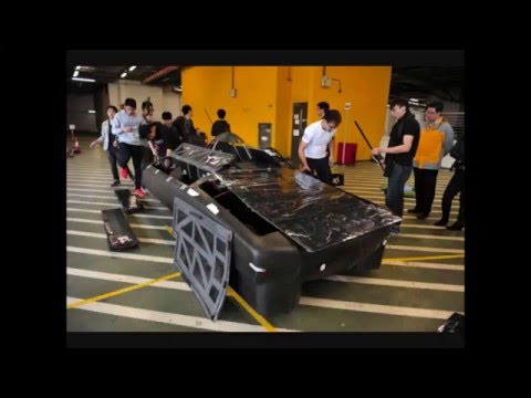 PolyU Sunna and Sunbird Solar Cars ~ New Energy New Generation Solar Car Competition 2016