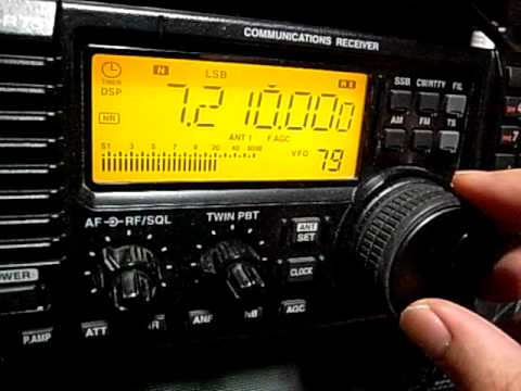 Icom IC-R75: Comparison between AM reception and SSB reception