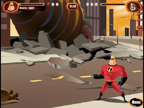 Juegos aleatorios - The incredibles
