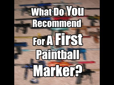First Paintball Marker?