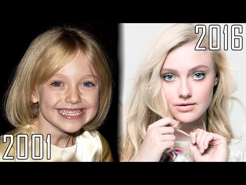 Dakota Fanning (2001-2016) all movies list from 2001! How much has changed? Before and Now!
