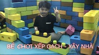 Khu vui chơi cho bé - indoor playground , Đồ chơi xếp hình rèn luyện trí thông minh KEN CHANEL