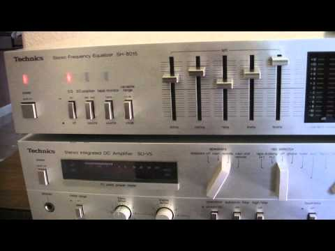 Technics SH-8015 Stereo Equalizer