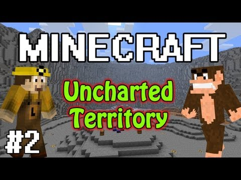 WOOL!: MINECRAFT Co-Op w/ Lorgon111: AMLP's UNCHARTED TERRITORY: Part 2