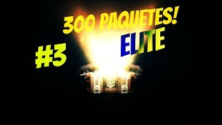 Modern Combat 5: Abriendo 300 paquetes elite #3 + NOTICIA ! | HD