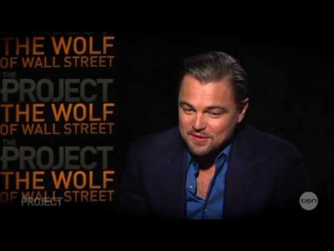 Leo Dicaprio 'sex Scenes Just A Days Work' & Jonah Hill Australian Tv Interview 23 1 2014 video