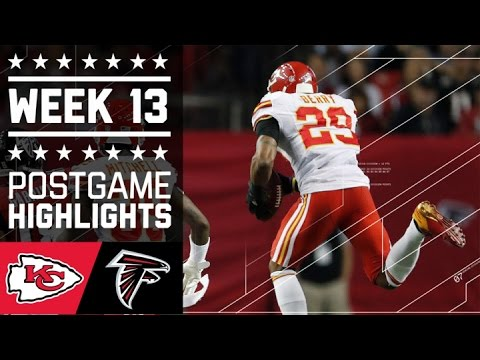 7 Chiefs Vs Falcons Nfl Week 13 Game Highlights