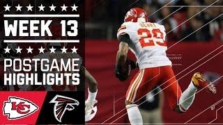 #7 Chiefs vs. Falcons | NFL Week 13 Game Highlights