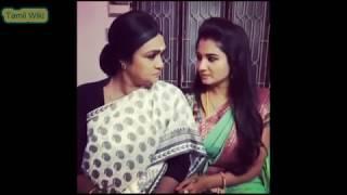 nenjam marappathillai Saranya New Dubsmash video