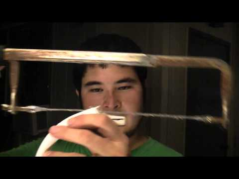 How to Make a 25-30 Pound PVC Takedown Travel Bow Part 2 - Shaping Recurves