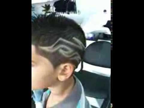Fashion coiffure coupe tribal au rasoir youtube for Coupe de cheveux tribal etoile