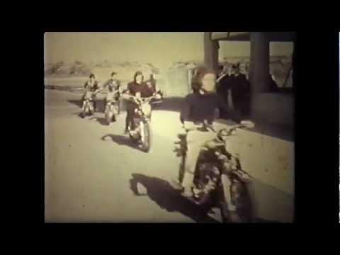 La Roma che correva in moto