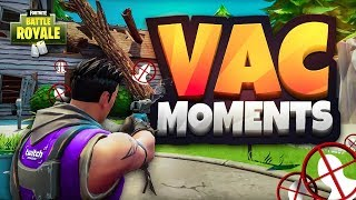 TOP 50 CRAZIEST VAC MOMENTS IN FORTNITE BATTLE ROYALE! (INSANE PREDICTIONS & WTF MOMENTS)