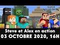 ?[FR] Smash Bros. Direct : Présentation DLC Steve de Minecraft | Live Reaction