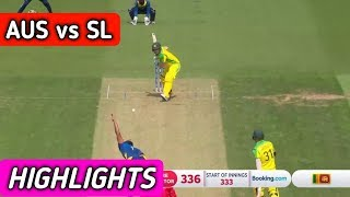 Australia vs Sri lanka | ICC Cricket world cup 2019 - match Highlights | Sl vs Aus match video