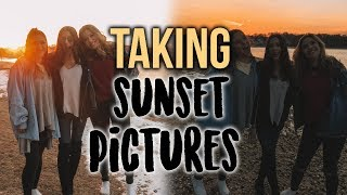 Day In My Life: SUNSET PICS WITH LEANNA AND ALLI!!
