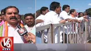 MLA Vinay Bhaskar Face To Face Over TRS Working President KTR Warangal Public Meet