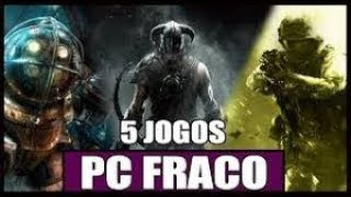 Melhores jogos leves para PC fraco