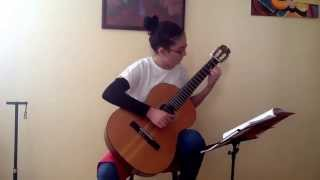 Küçük Fidan   Gitar: Handenur Aydın
