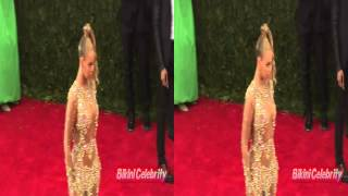 Beyonce 3D Amazing Arrival at Met Gala 2015 [3D Stereoscopic...