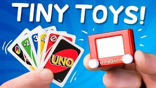 12 of the World's Smallest Toys... Which One is Best?