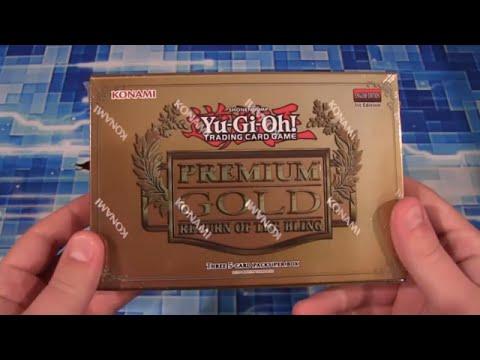 Yugioh Premium Gold 2 Return Of The Bling Pack Opening video