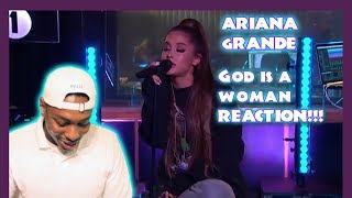 Ariana Grande LIVE!! God is A Woman  reaction!!