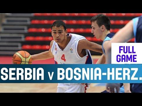 Serbia v Bosnia and Herzegovina– 2nd Round– 2014 U18 European Championship