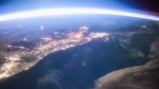 Epic time lapse footage of Earth from the International Space Station