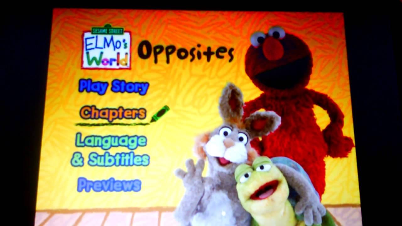 Sesame Street- Elmo's World Opposites - YouTube