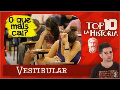 TOP 10 Temas Que Mais Caem No Vestibular