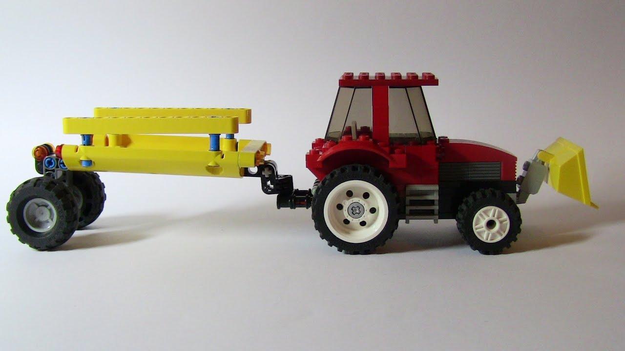 Как сделать прицеп для машины из LEGO видео 73