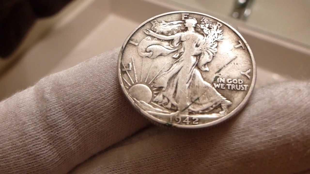 1942 Walking Liberty Half Dollar Coin Review Youtube
