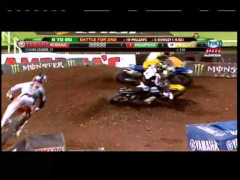 450 Main Event Salt Lake City Supercross 2013 RD16