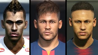 Neymar Evolution from PES 2012 to PES 2019